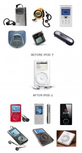 Before & After iPod