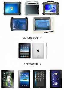 Before and After iPad