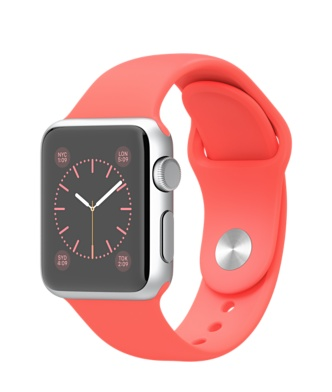Apple-Watch-38mm-Silver-Aluminum-Case-with-Pink-Sport-Band