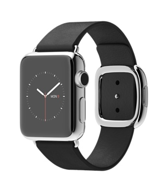 Apple-Watch-38mm-Stainless-Steel-Case-with-Black-Modern-Buckle