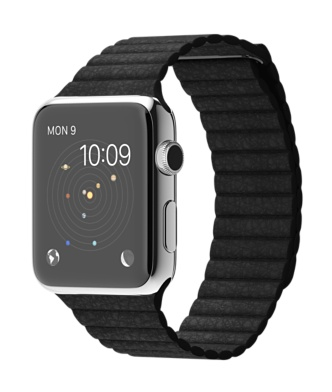 Apple-Watch-42mm-Stainless-Steel-Case-with-Black-Leather-Loop