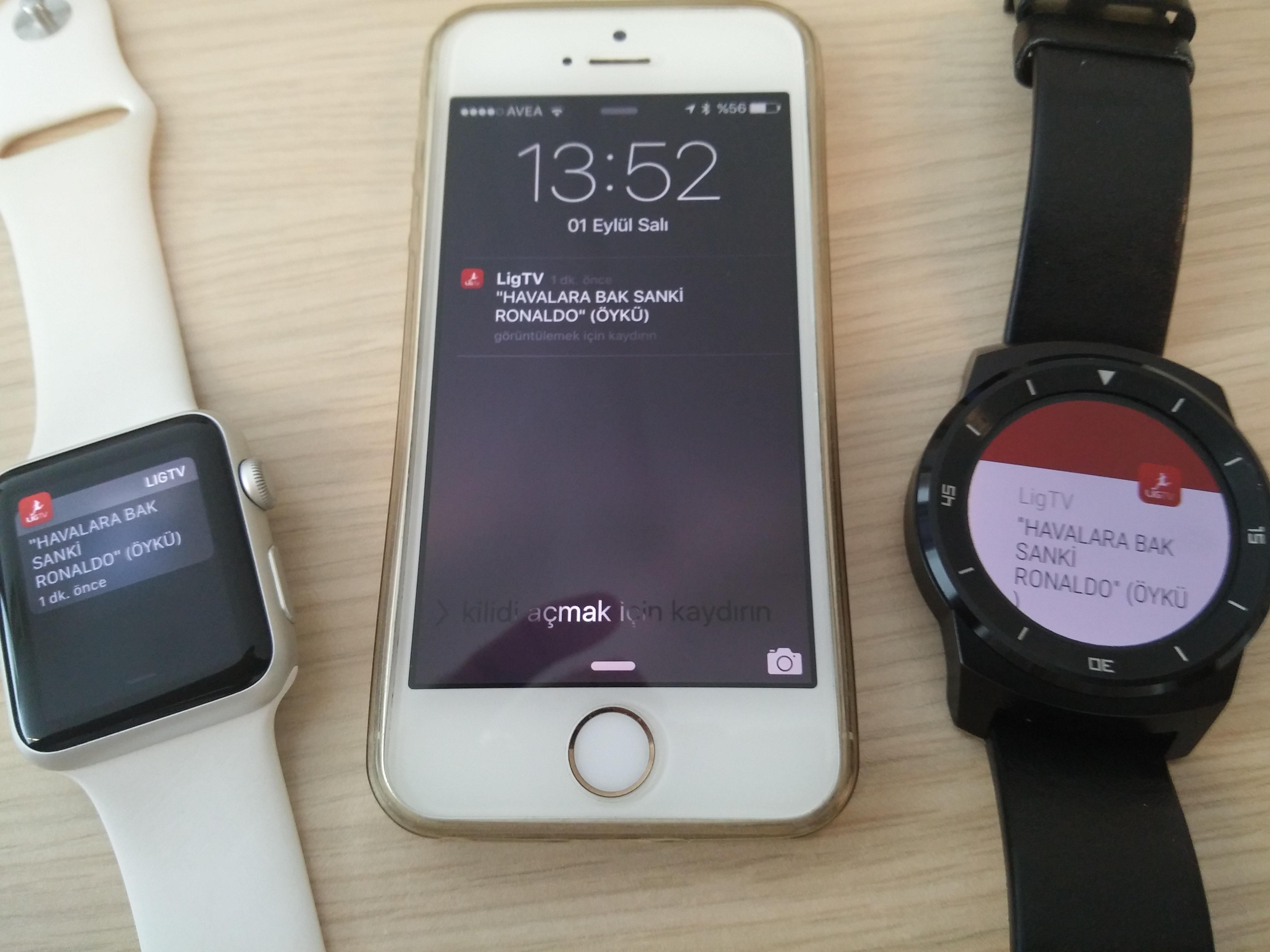 Android Watch artık iPhone'da da çalışıyor!