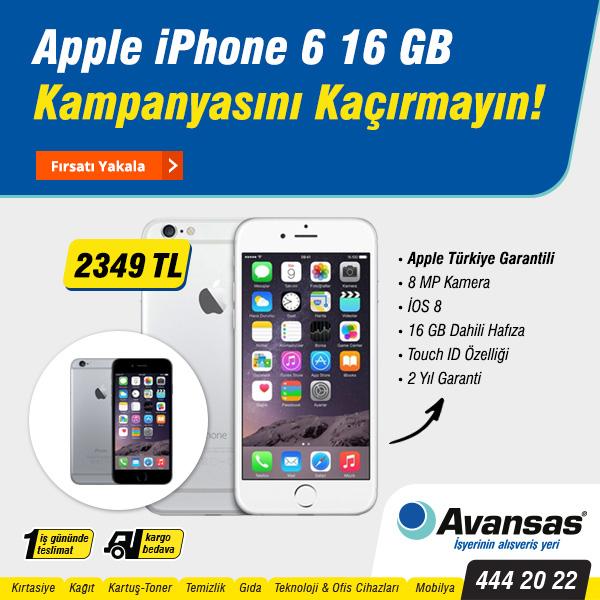 Avansas'dan iPhone 6 Kampanyası