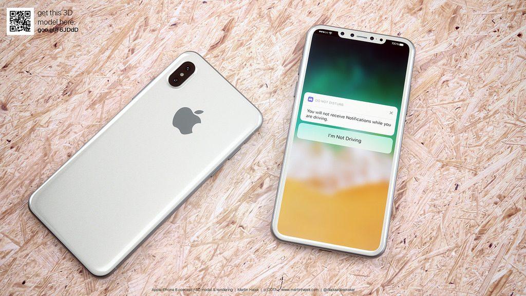 iPhone 8 Tasarımı Hakkında İpuçları