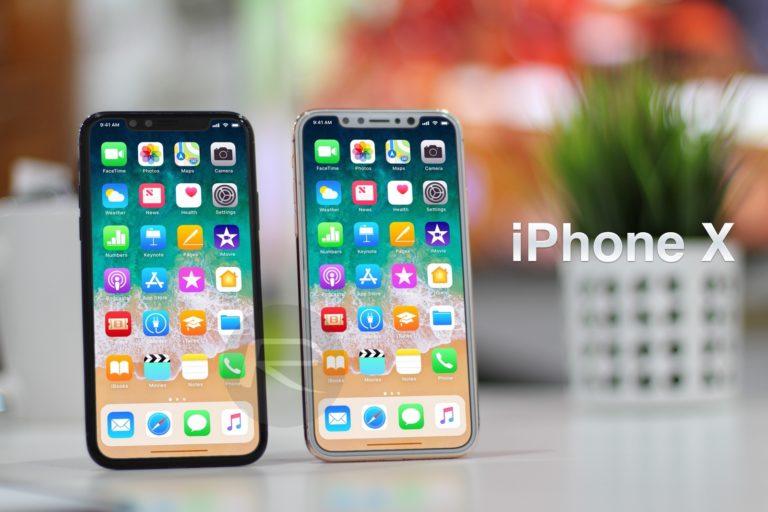 iPhone 8 – iPhone X – Edition ile önceki iPhone'ların boyut karşılaştırması