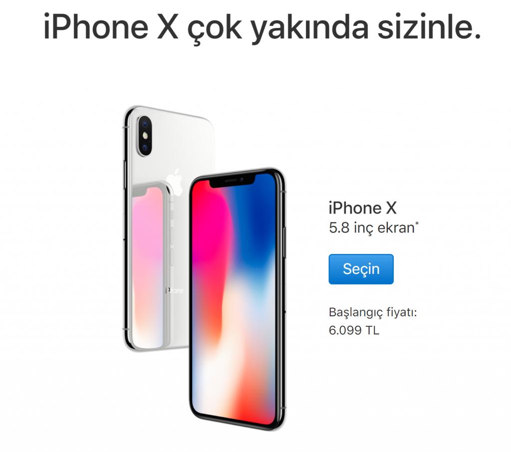 iPhone X Türkiye Satış Fiyatı Belli Oldu!