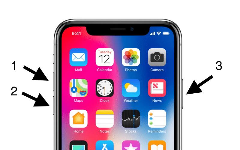 3 Adımda iPhone X Nasıl Resetlenir