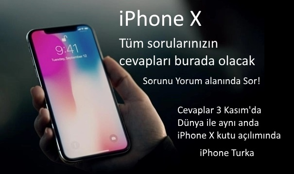 iPhone X hakkında sorularınızı cevaplayalım!