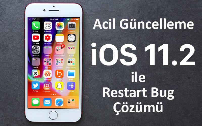 iOS cihazlarında 2 Aralık'ta başlayan restart sorunu için Acil Güncelleme! Sorunun Çözümü